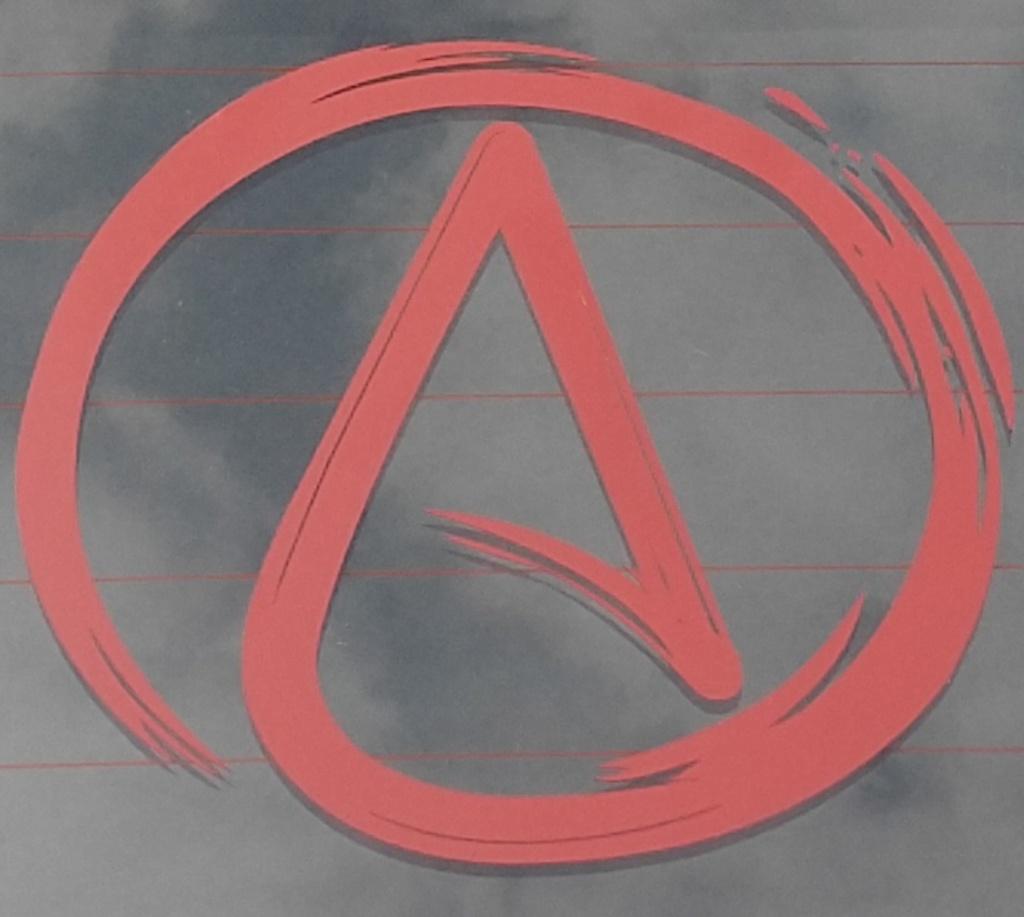 Atheist alliance of america logo window decal atheist alliance atheist alliance of america logo window decal biocorpaavc Choice Image